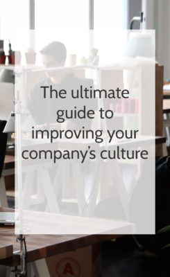 guide to improving company culture
