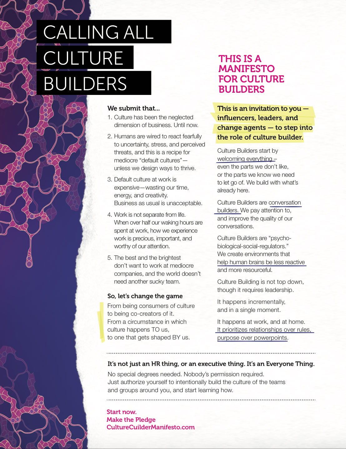 Culture Builder Manifesto